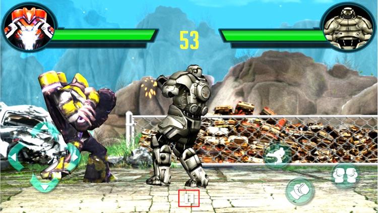 Futuristic Robot Boxing : 3D Street Fighter Club