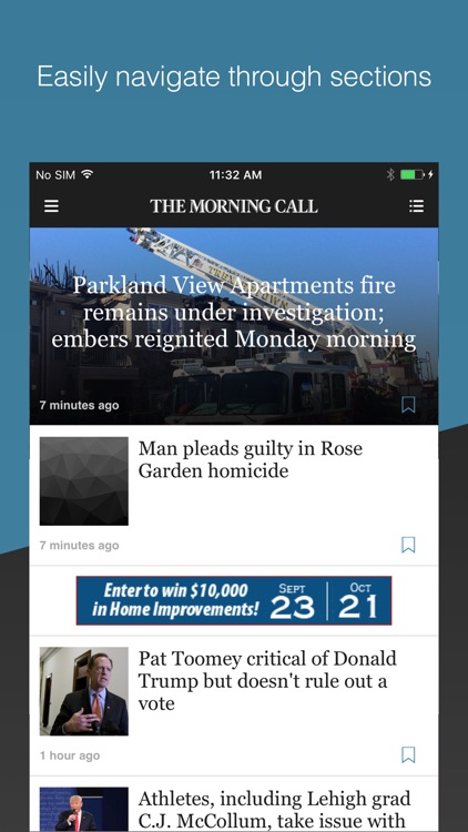 The Morning Call app image