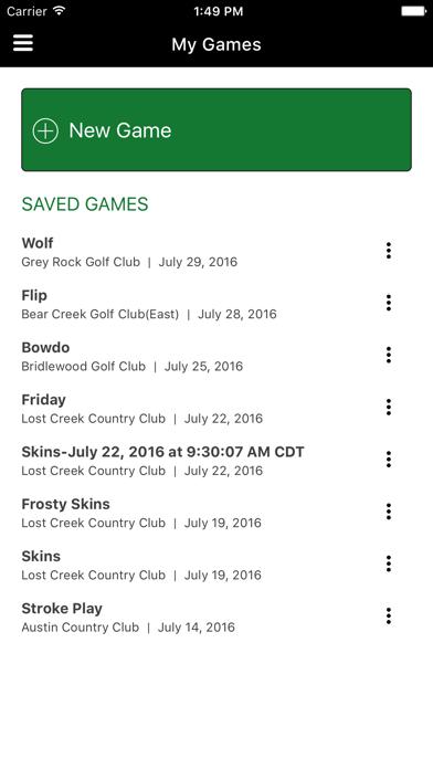 Money Game Golf