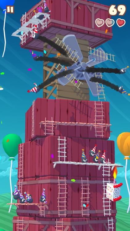 Twisty Sky - Endless Tower Climber screenshot-0