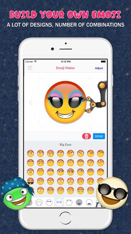 Emoji Maker™ - Create Your Own Emoji - Online Game Hack and