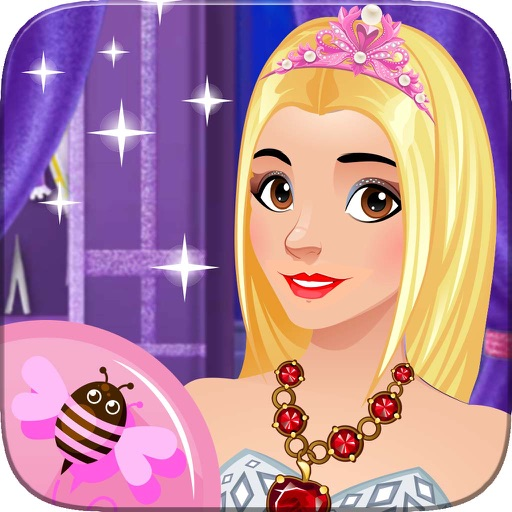 Princess Stylist Girls Dress Up and Makeup Salon