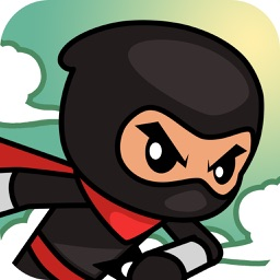Ninja Rush -jump and run game