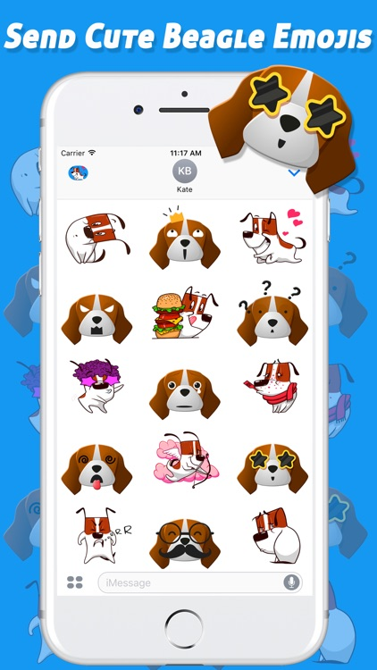 iBeagleMojis - Beagle Emoji Keyboard