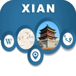 Xian China City Offline Map Navigation EGATE