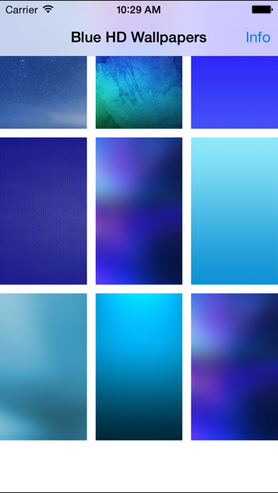Blue Wallpapers(HD) - Best Backgrounds & Themes screenshot one