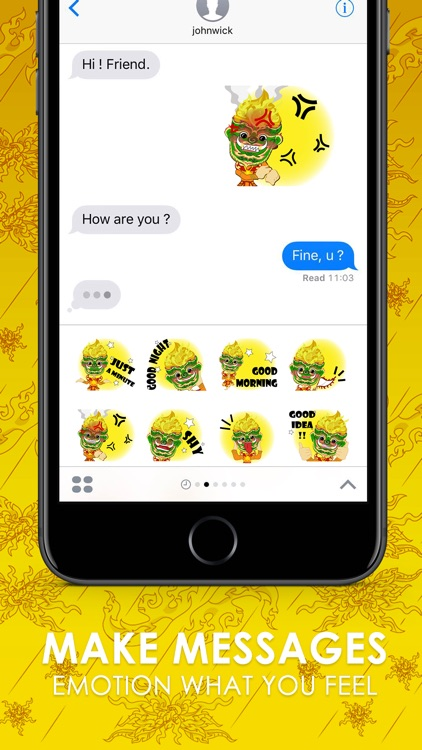 Giant Thai V.Eng Stickers for iMessage