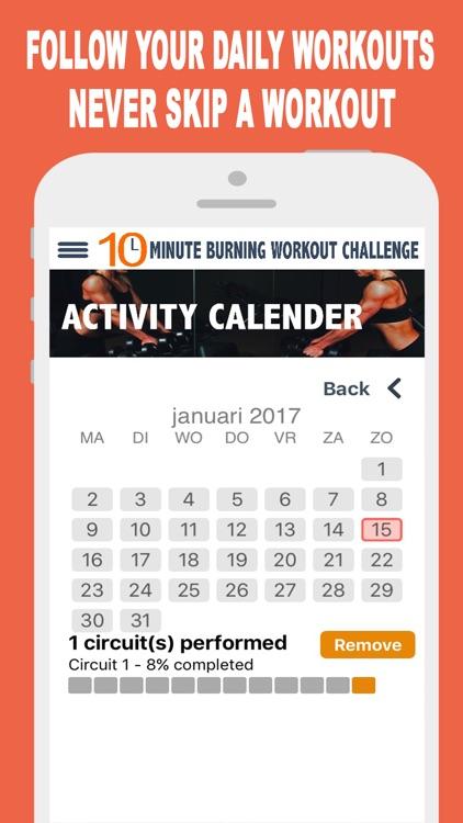 10 Minute Burning Workout PRO screenshot-3