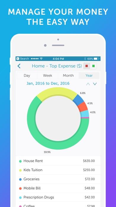 Screenshot #6 for Easy Spending -Expense Tracker