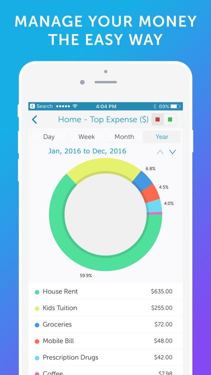 Easy Spending - Money Tracker & Budget Planner