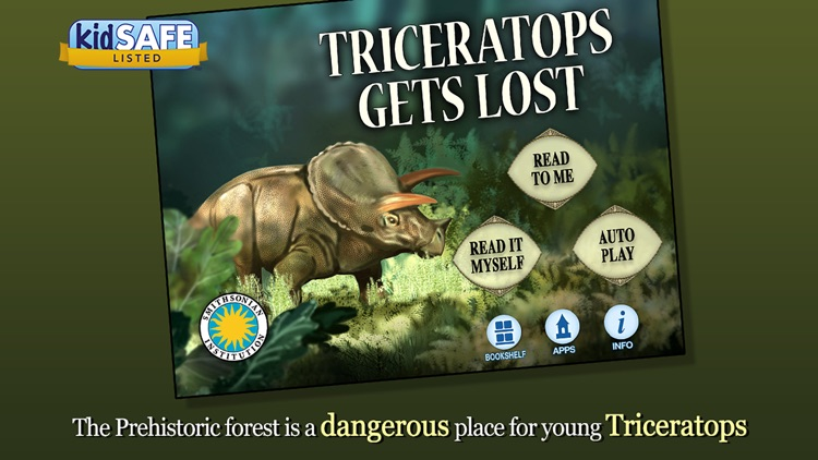 Triceratops Gets Lost - Smithsonian's Prehistoric screenshot-0