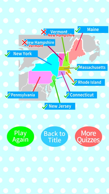 US States & Capitals Map Quiz - Online Game and Cheat ... on map australia capitals, map fashion capitals, 50 states map capitals,