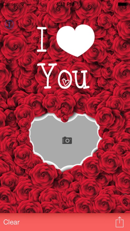 I Love You - Love Card Maker for Valentines Day screenshot-3