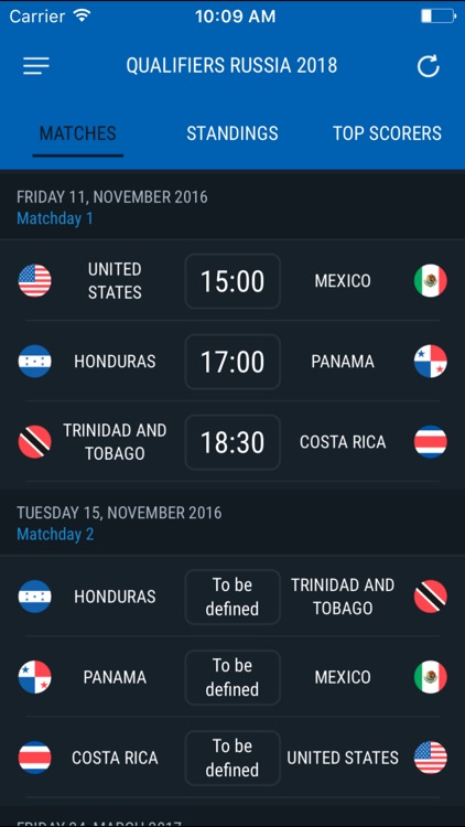 North and Central America Qualifiers