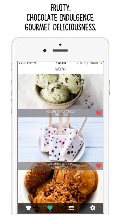 Vegan Nice Cream Recipes app image