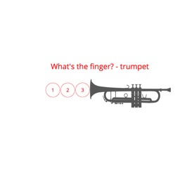 What's the finger? - trumpet