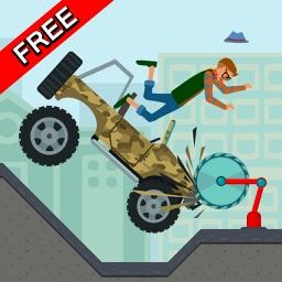 Wheels Hill Crash Test Simulator 2D