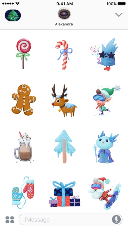Magic Christmas Stickers