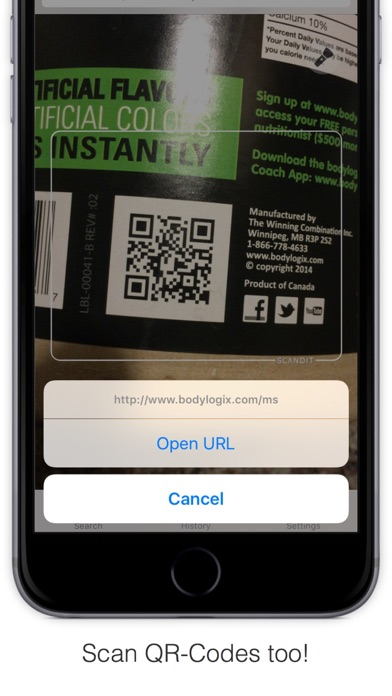 Bakodo - Barcode Scanner and QR Bar Code Readerのおすすめ画像5