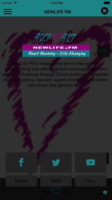 NewLife FM screenshot three