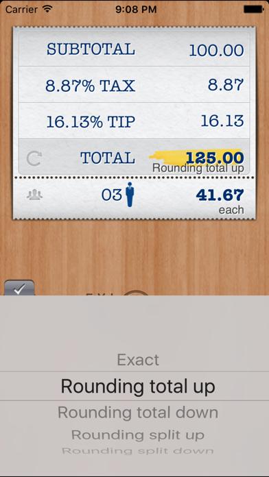 FYI Tip Calculator Free Screenshot