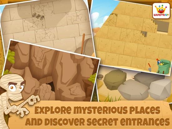 Archeoloog Egypte: Educatieve spelletjes kinderen iPad app afbeelding 5