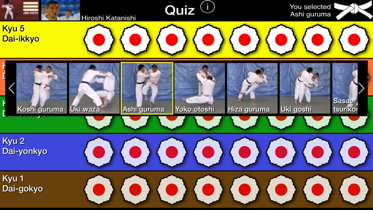 Judo Gokyo screenshot-2