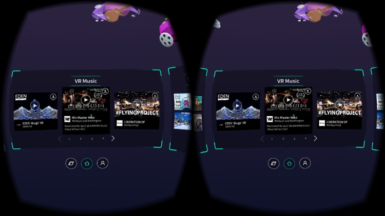 VR Music for Google Cardboard