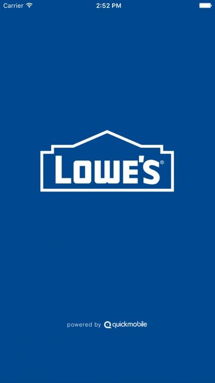 Lowe's Event App