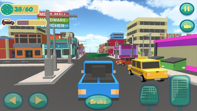 Gift Delivery Car: Driving & Parking in Block City screenshot-0