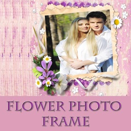 Flower Photo Frame And Pic Collage