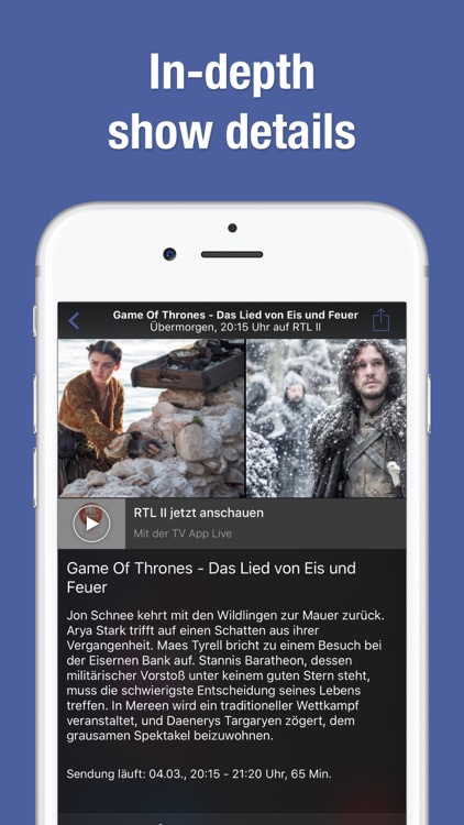 TV Guide and TV Schedule by TV.de
