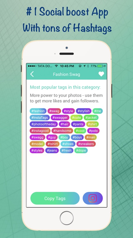 HashTags Pro - Hashtag Manager for Instagram - Online Game