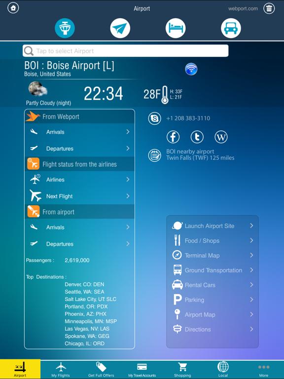 United Kingdom Airports - Flight Tracker HD screenshot one
