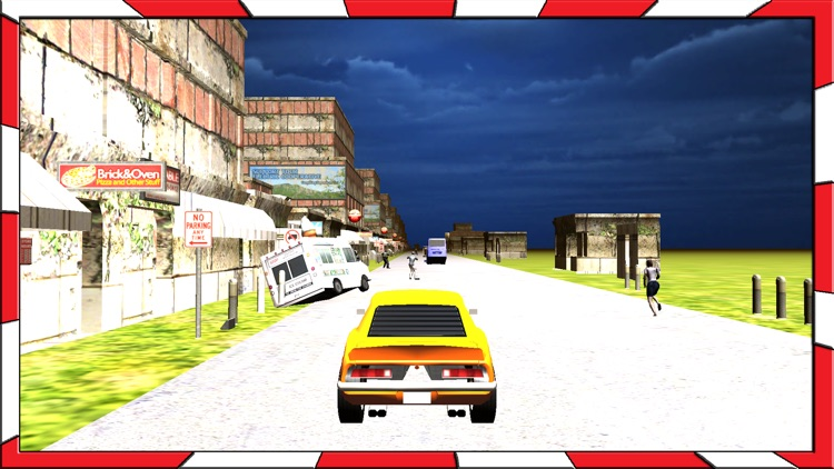 Adventurous Ride of Fastest Car in Zombie City