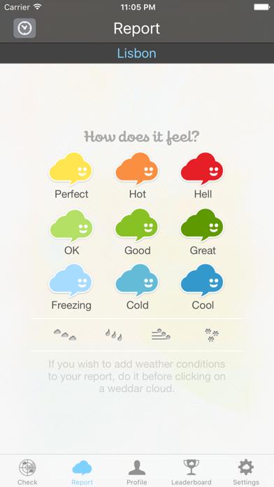 Weddar - Social Weather