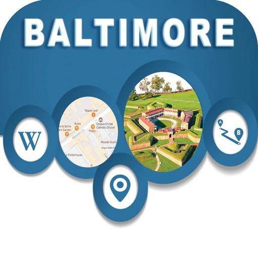 Baltimore USA Offline Map Navigation GUIDE