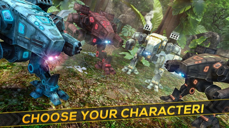 Champions Robot League | The Steel War Attack Game