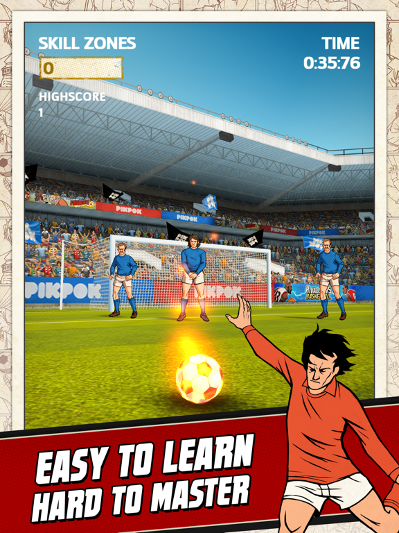 Flick Kick Football-ipad-1