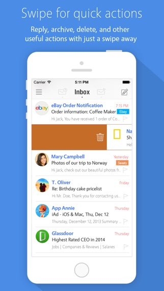 MailBuzzr for Outlookのスクリーンショット2