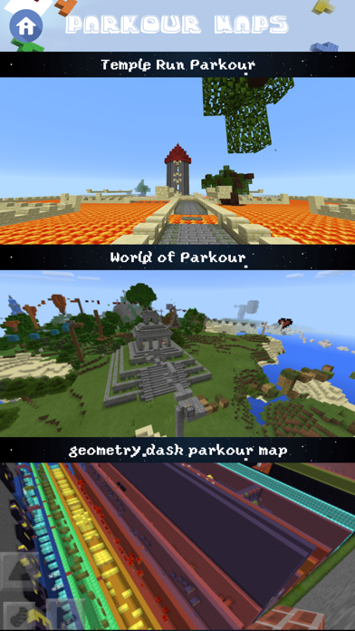 Free Parkour Maps for Minecraft Pocket Edition | App Price Drops