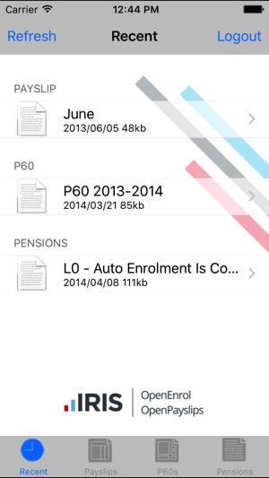 IRIS OpenPayslips on the App Store