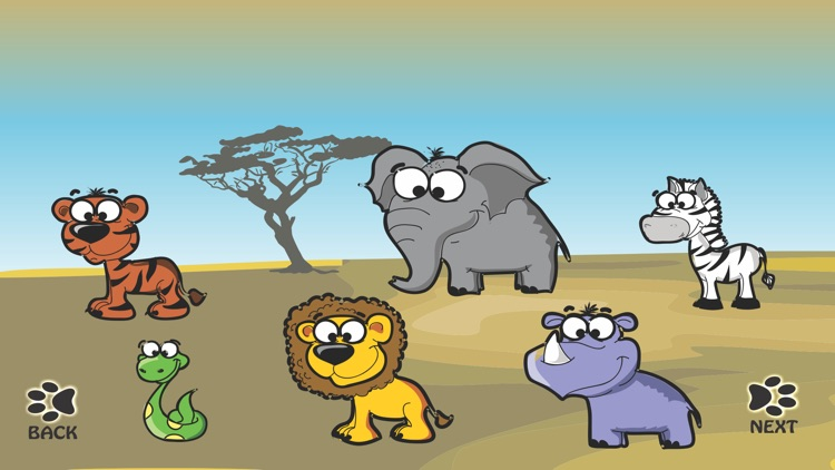 Wild Animals Savanna Sounds