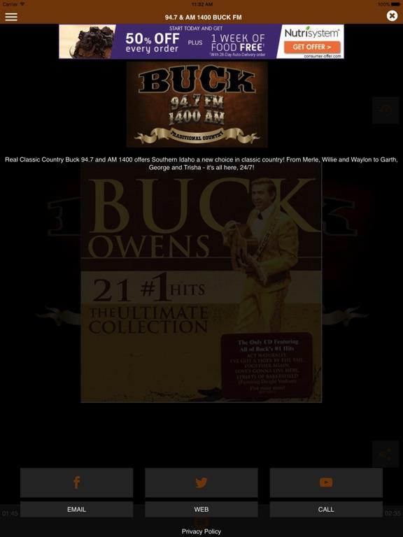 94.7 & AM 1400 Buck FM-ipad-2
