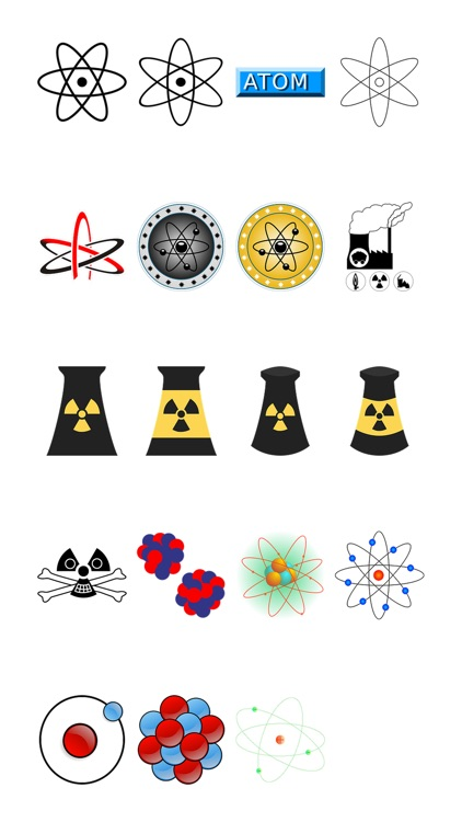 Atoms Sticker Pack