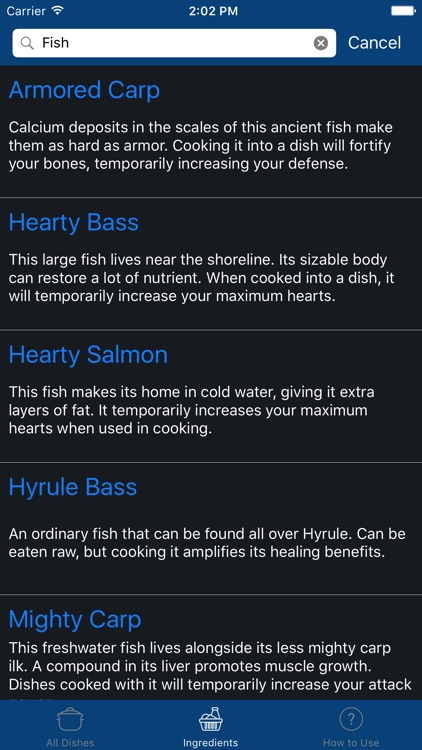 Cooking Guide for Zelda: Breath of the Wild screenshot-3