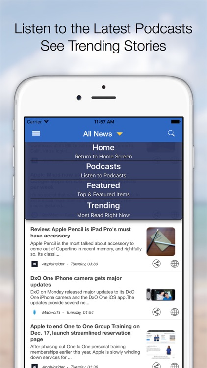 Clarus - Apple World News screenshot-3