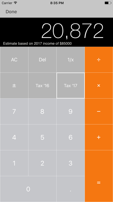 my Tax – Income Tax Calculator with ATO Rates screenshot four