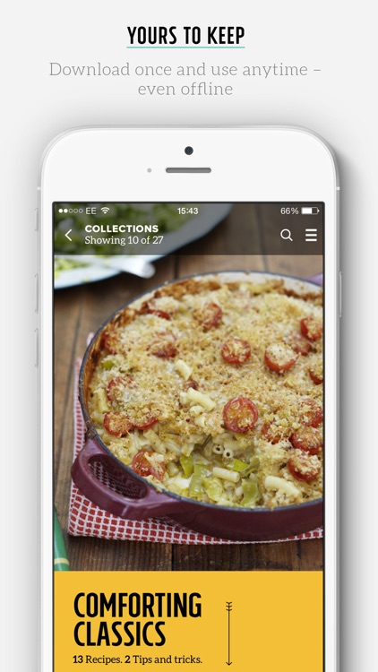 Jamie Oliver's Ultimate Recipes app image