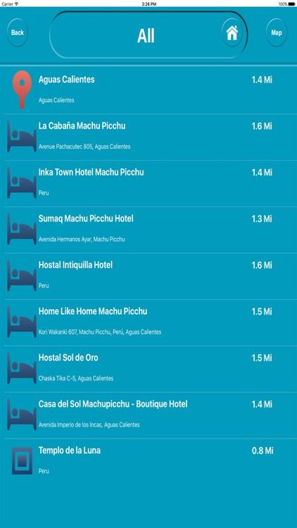 Machu Picchu Peru Offline City Maps Navigation screenshot-3